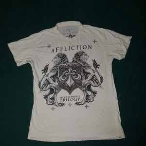 AFFLICTION Graphic Tee - Fedor vs Barnett Trilogy